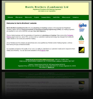 Website: Harris Brothers Plumbing