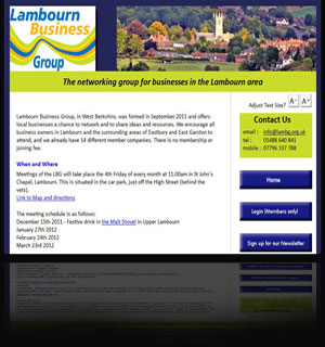 Website: Lambourn Bussiness Group