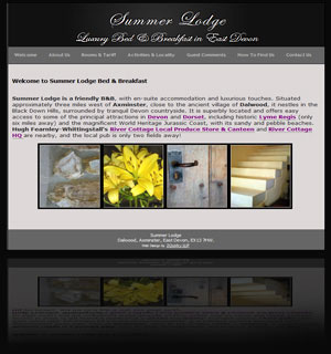 Website: Summer Lodge B and B
