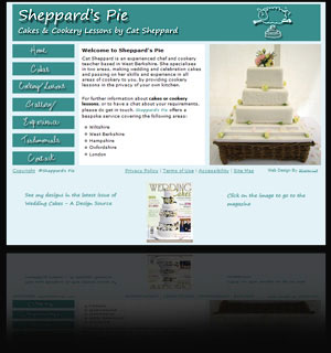 Website: Sheppard's Pie